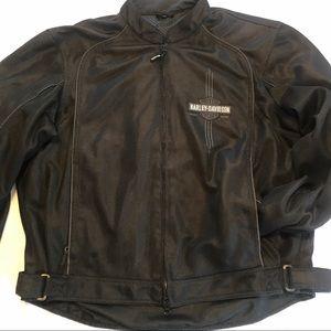 MensHarley Davidson MeshXL Jacket Embroidered EUC